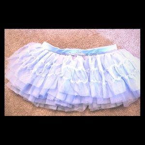 Mirella Light Blue Dance Skirt